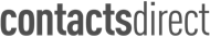 Contacts direct logo - Black and White
